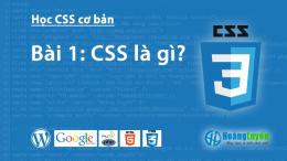 CSS là gì?