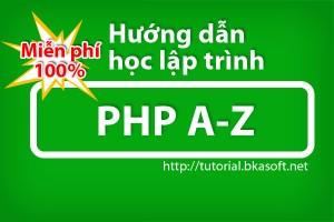 Hướng dẫn học lập trình php