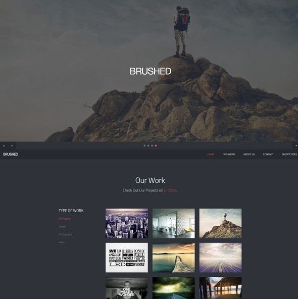 Brushed-Responsive-One-Page-Template