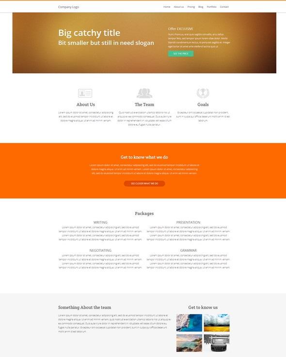 Website – HTML5, CSS3, jQuery