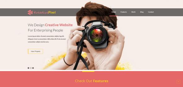 KreativePixel-Website