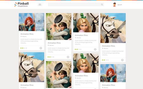 Pinball-Website-Template-Home