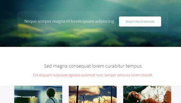 Telephasic |  HTML5 Template