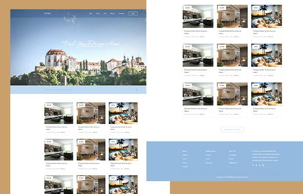 La Casa – HTML Template responsive bất động sản