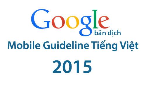google-mobile-guideline-tieng-viet