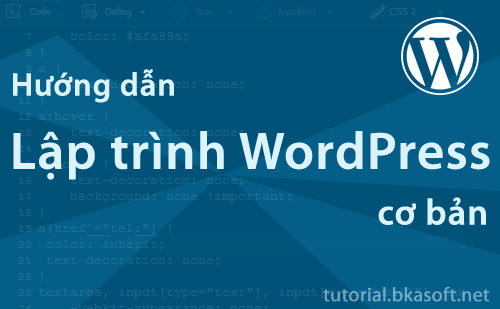 Hướng dẫn lập trình WordPress cơ bản