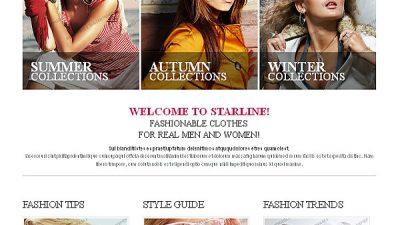 Tổng hợp các Template Responsive thời trang đẹp và độc đáo