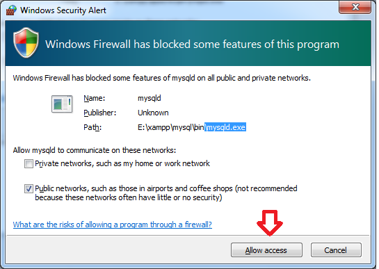 windows-security-alert-mysqld