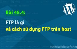 Bài 48.4: FTP là gì và cách sử dụng FTP trên host