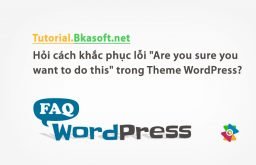 "Hỏi cách khắc phục lỗi ""Are you sure you want to do this"" trong Theme WordPress?"