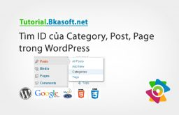 Tìm ID của Category, Post, Page trong WordPress