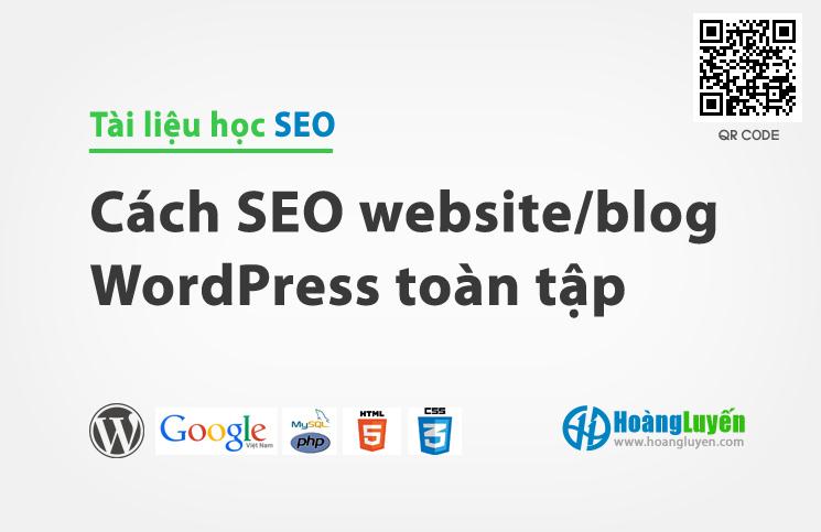 Đào tạo SEO WordPress miễn phí và cách SEO WordPress toàn tập
