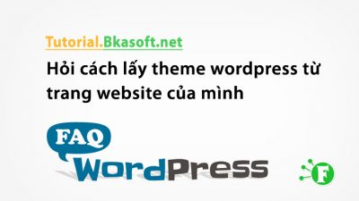 Hỏi cách lấy theme wordpress từ trang website của mình?