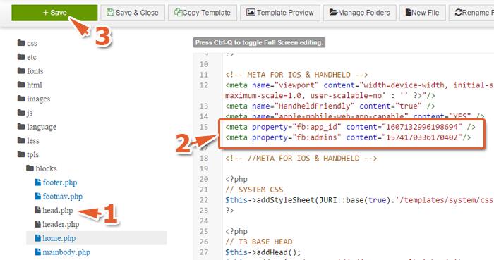 Joomla sử dụng Template trên nền tảng T3 FrameWork