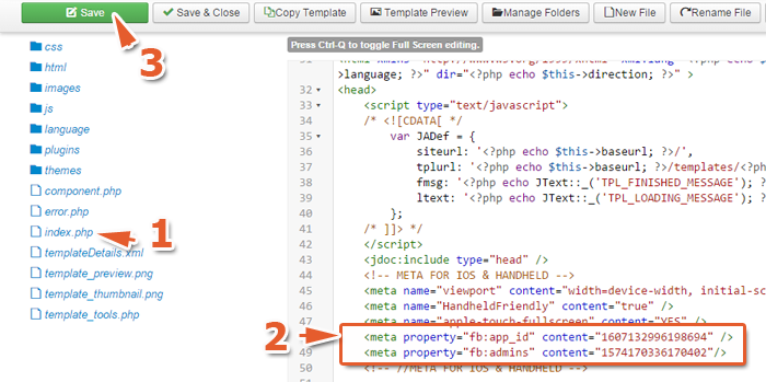 Với Joomla được tạo bởi Tempate của bên thứ 3 tức là bên Design hoặc mua code
