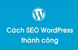 Hướng dẫn cách SEO WordPress thành công