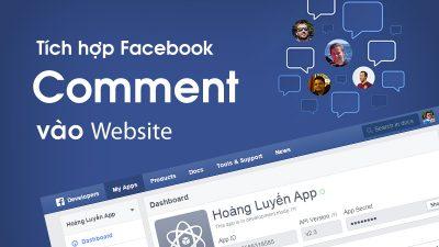 Tích hợp Comment Facebook, Google+, Disqus vào Website