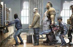 Truyện cười: Bài học cho kẻ cướp không có học