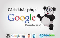 Cách nhận biết và cách khắc phục Panda 4.2