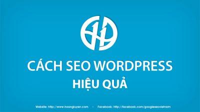 Cách SEO WordPress hiệu quả
