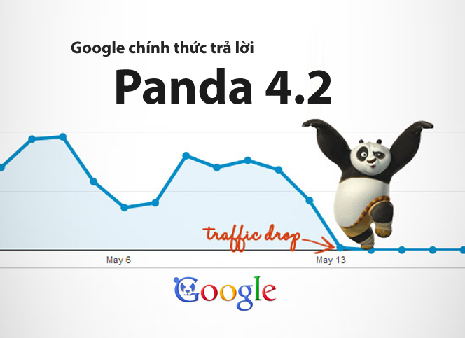 Google chính thức trả lời về thuật toán Panda 4.2