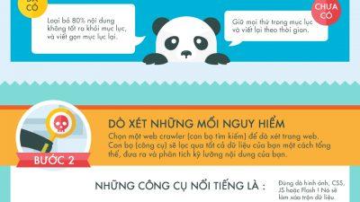 [Infographic] Cách khắc phục thành công hình phạt Panda