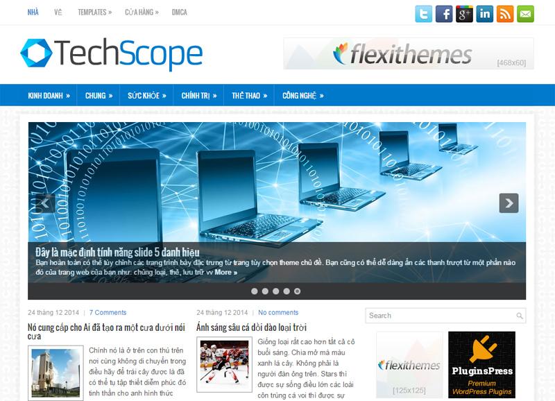 Themes WordPress TechScope
