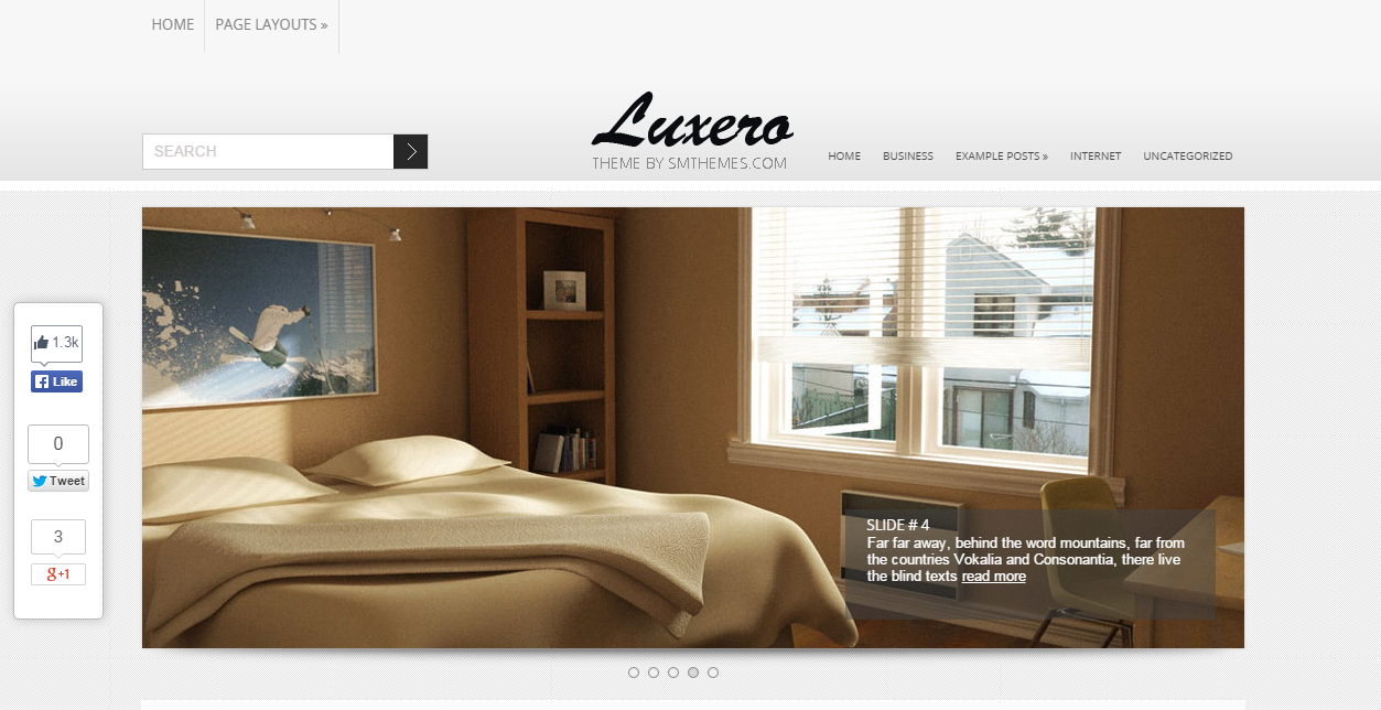 Themes WordPress responsive Luxero