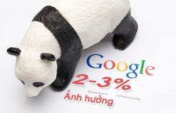 Thuật toán Panda 4.2 ảnh hưởng 2-3% truy vấn tiếng Anh