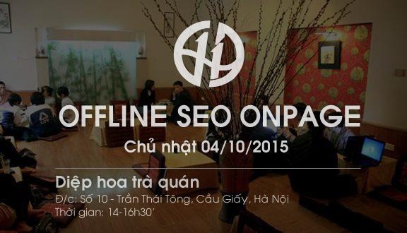 Đăng ký Offline SEO Onpage tại Hà Nội