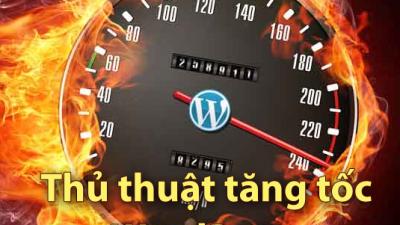 Mẹo tăng tốc cho WordPress với wp-config.php