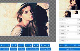 Download jQuery image cropping plugin