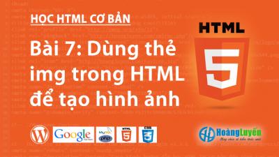 Thẻ hình ảnh trong HTML