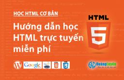 Học HTML