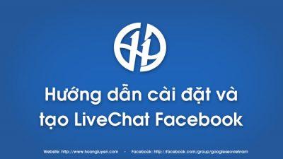 Phần mềm LiveChat Fanpage Facebook Version 2.1 miễn phí