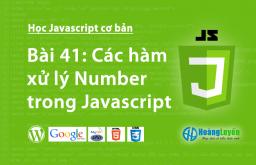 Các hàm xử lý Number trong Javascript
