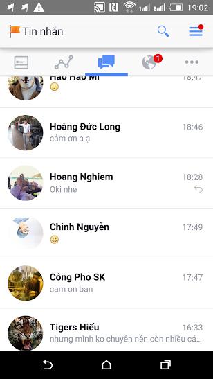 Phần mềm chat trên di động