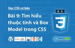 Thuộc tính margin & padding trong CSS