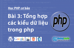 Tổng hợp các kiểu dữ liệu trong php