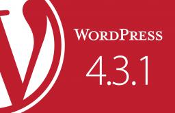Phiên bản WordPress 4.3.1 có gì mới?