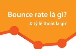 Bounce rate là gì? hay Tỷ lệ thoát là gì?