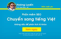 Phần mềm chuyển sang tiếng Việt không dấu