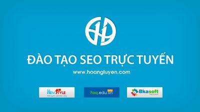 Dịch vụ đào tạo seo trực tuyến