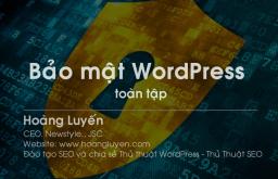 Hướng dẫn bảo mật 2 lớp cho WordPress.org