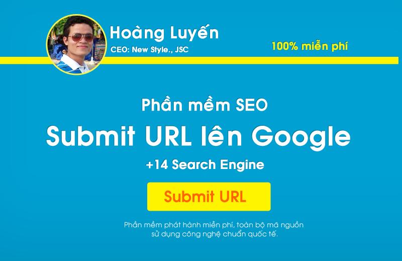 Phần mềm submit url