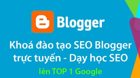 Khai giảng khoá đào tạo SEO Blogger 2016
